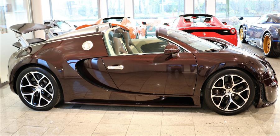 bugatti veyron vitesse full carbon unique