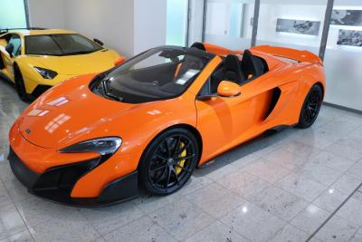 McLaren 675LT SPIDER LIMITED