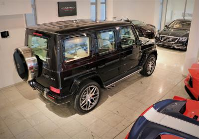 Mercedes-Benz G 63 AMG SOFORT / Obsidian Black