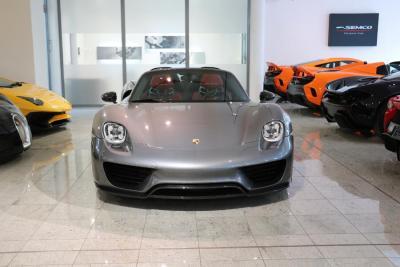 Porsche 918 Spyder Meteor Grey Metallic