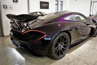 McLaren P1 Amethyst Black