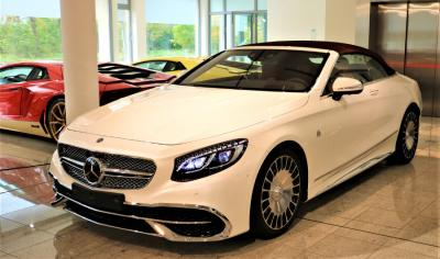Mercedes-Benz S650 Maybach Cabrio 1 of 300 WHITE